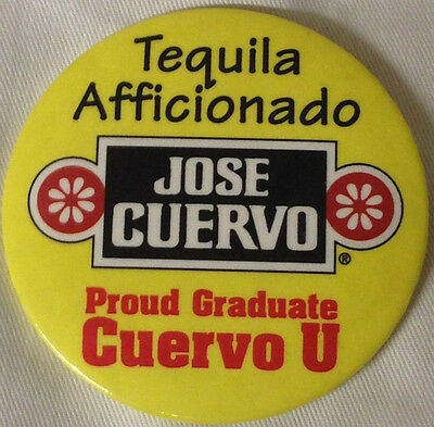 Jose Cuervo Tequila Afficionado Proud Graduate Cuervo U University Button Pin