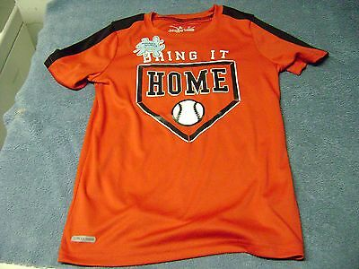 Baseball Training Shirt Boy Or Girl Size 6 New Look  Says : Bring It Home !