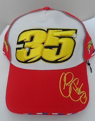 Cal Crutchlow Red 35 Cap Official Merchandise Size Adult Adjustable New