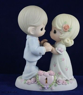 Precious Moments - First Wedding Anniversary Couple 115910