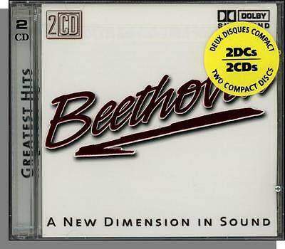 Beethoven - Greatest Hits (2001) - Over 2 Hours of Music on 2 New CD's!