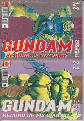 GUNDAM -RECORD OF MS WARS II -1 e 2 - MINISERIE COMPLETA - PLANET MANGA