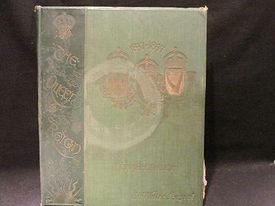 The Queen's Reign Sir Walter Besant 1837-1897 Victoria Commemoration Book