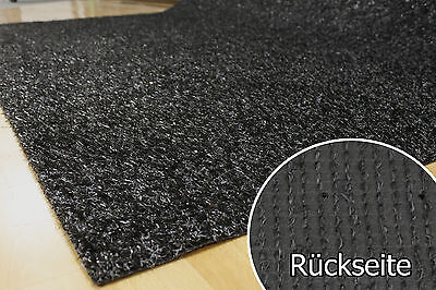 Artificial Grass Turf Carpet 15 mm Tuftrasen black 2 m Width