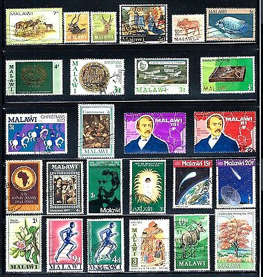MALAWI Stamps Lot of 26
