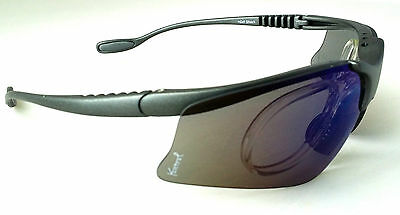 GELSHOCK: Blu Smoke SPORTS Prescription Sunglasses