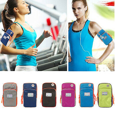 Sports Gym Running Slim Armband for Apple iPhone 6s & 6 Plus Arm Band Case Black