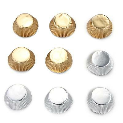 100 Foil Liners Cupcake Baking Cups Cake Candy Cookie Decoration DIY
