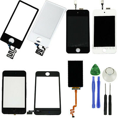 Touch Screen Glass Digitizer Assembly Replacement for iPod Touch 2 3 4 Nano 6 7