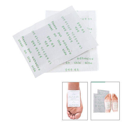 6/10/20Pcs Detox Foot Pads Patch Detoxify Toxins Adhesive Keeping Health Care