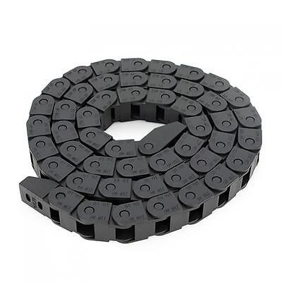 1M 1 Meter Nylon PA66 Length High Speed Drag Chain Wire Carrier for CNC Router