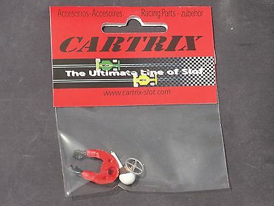 Cartrix Spares Half Body (Classic Helmet) & Chrome Steering Wheel 1180C  New