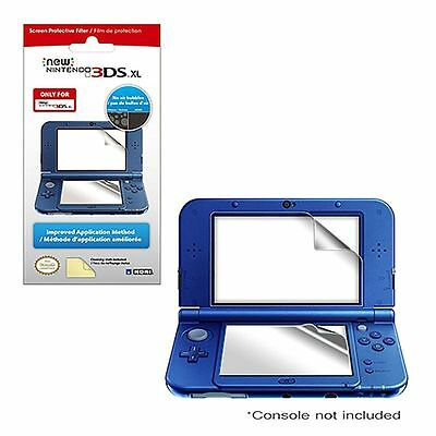 Hori For The New Nintendo 3Ds Xl Screen Protective Filter, New And
