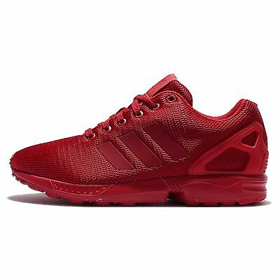 adidas Originals ZX Flux Triple Red Torsion Mens Running Shoes Sneakers S32278