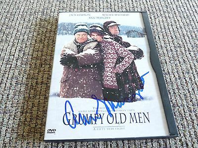Ann Margret Grumpy Old Men Autographed Signed DVD Movie Cover PSA Guaranteed