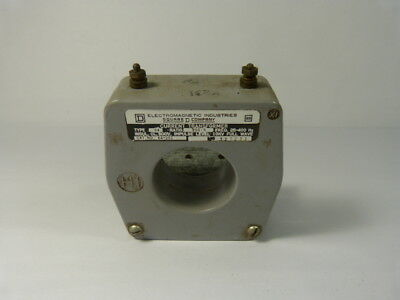 Square D 64-251 Current Transformer Ratio 250:5 Type 64 ! WOW !