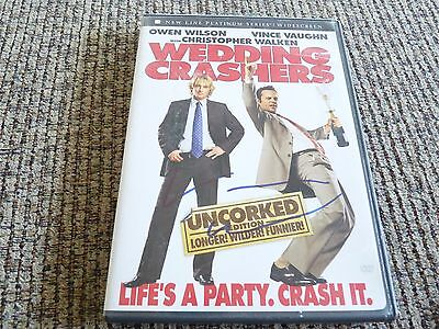 Vince Vaughn Wedding Crashers Autographed Signed DVD Movie Cover PSA Guaranteed