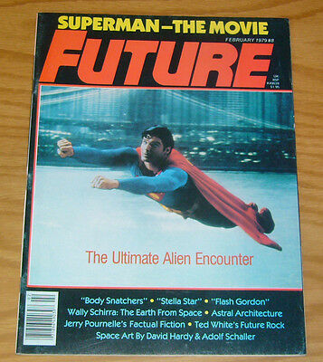 Future Magazine #8 VF superman - invasion of the body snatchers  jerry pournelle