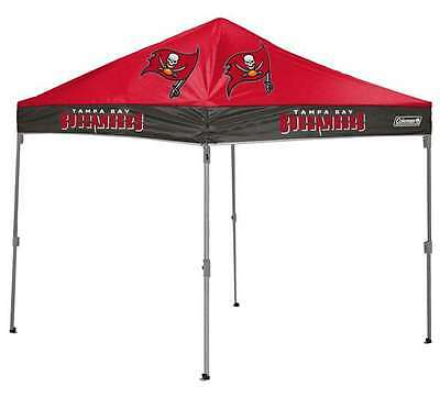 Tampa Bay Buccaneers  10 X 10 Canopy - Coleman Tailgate Shelter Tent