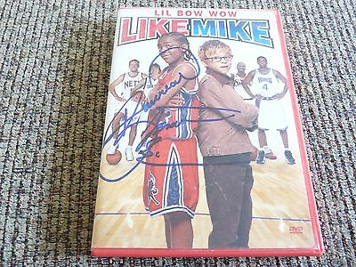 Lil Bow Wow & Jonathan Lipnicki Like Mike Signed DVD Cover PSA Guaranteed