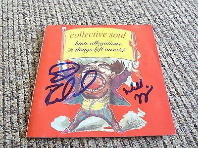 Collective Soul Ed Roland Will Turpin Autographed Signed CD Book PSA Guaranteed