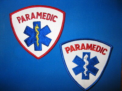 2 Generic Paramedic Patches