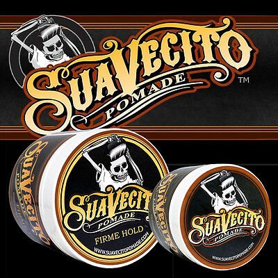 Suavecito Hair Pomade Strong, Firme Original Hold Large or Small Mens Barber Gel