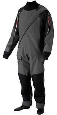 Gill Pro DrySuit Ash/Graphite. Size X-Small. 4802 New from Stock