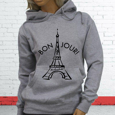 City France Tourist Vacation Travel Paris Vacation Proud  Mens Charcoal Hoodie