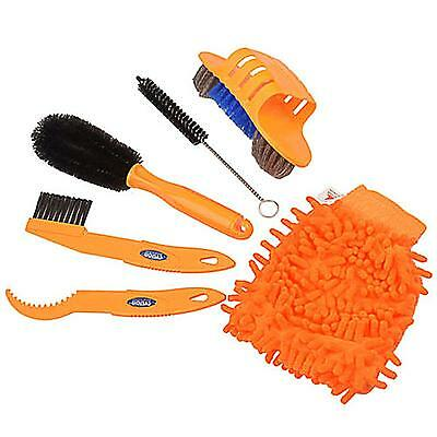Bike Cycling Cleaning Tool Tire Brush Chain Wash Brake Disc Cleaner Tool