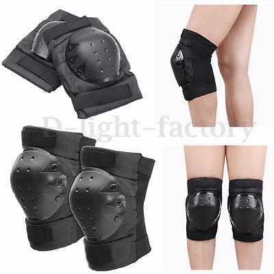 Heavy Duty Knee Pads Protection Sewn Cap For Outdoor Sports Skating Skateboard