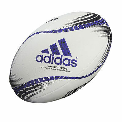 adidas Triumpho Rugby Official New Zealand All Blacks Rugby Mini Ball rrp£12