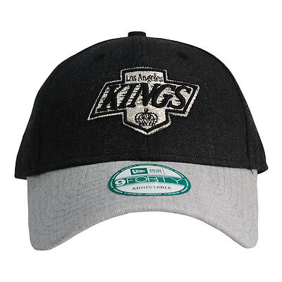 New Era LA Kings Heather Team 9Forty Curve Peak Baseball Cap Hat