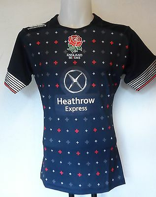 England Rugby 2014/15 Alt 7's Pro Jersey By Canterbury Size Adults Large Bnwt