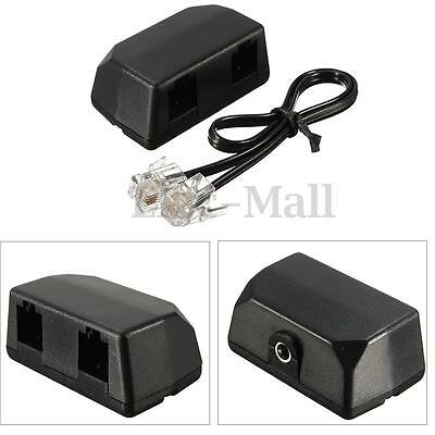 New Dictaphone Telephone Phone Recording Adapter RJ11 for Digital Voice Recorder
