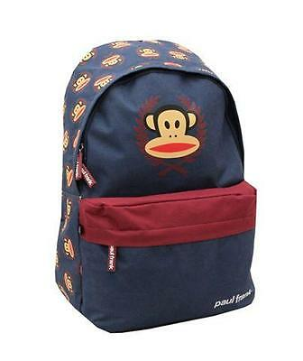 Paul Frank Navy Julius Monkey Backpack School Bag PFCL8556NVY Brand NEW