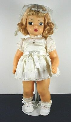 VINTAGE! Terri Lee Doll in First Communion Outfit C.1960 NICE!