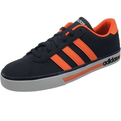 ADIDAS NEO DAILY Team men's casual shoes darkblue/orange sneakers ...