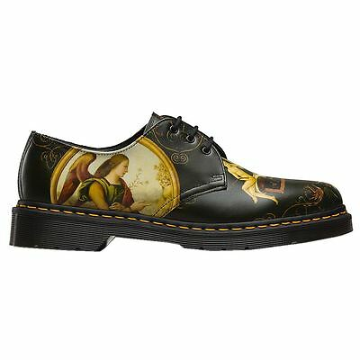 Dr.Martens 1461 3-Eyelet Di Paolo Backhand Black Womens Shoes