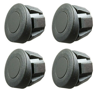Reverse Parking Sensors Rubber Suitable for Metal Bumpers 4 Sensor Kit Angled