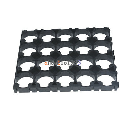 10PC 4x5 Cell 18650 Batteries Spacer Radiating Shell Plastic Heat Holder Bracket