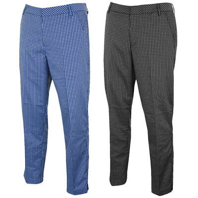 45% OFF RRP Puma Golf Mens Plaid Tech Pant 569094 DryCELL Performance Trousers