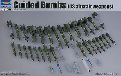 TRUMPETER® 03304 US Aircraft Weapons - Guided Bombs in 1:32