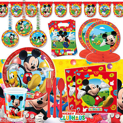 Disney Mickey Mouse Clubhouse DELUXE Birthday Party Pack Kit Set for 16 Guests