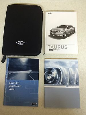 2010 Ford Taurus Owner's Owners Manual Guide User Books NAVIGATION ...