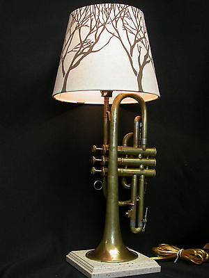 Vintage Ambassador Cornet Table Lamp With Shade -Special!