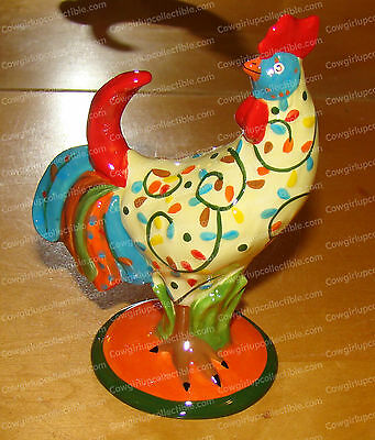 16754 - Just Leafy Mini Ceramic (Poultry n Motion) Rooster