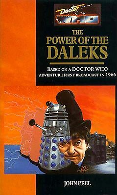 Doctor Who 2nd Dr (Troughton) Virgin Book - THE POWER OF THE DALEKS - (Mint New)