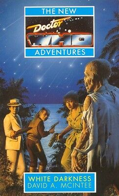 Dr Doctor Who Virgin New Adventures Book - WHITE DARKNESS - (Mint New)