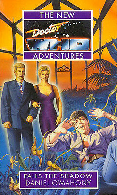 7th Dr Doctor Who Virgin New Adventures Book - FALLS THE SHADOW - (Mint New)